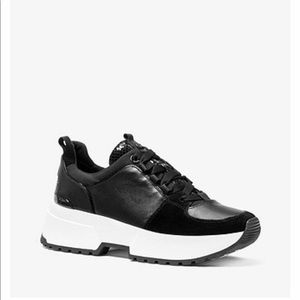 Michael Kors Cosmo Leather Trainers💥